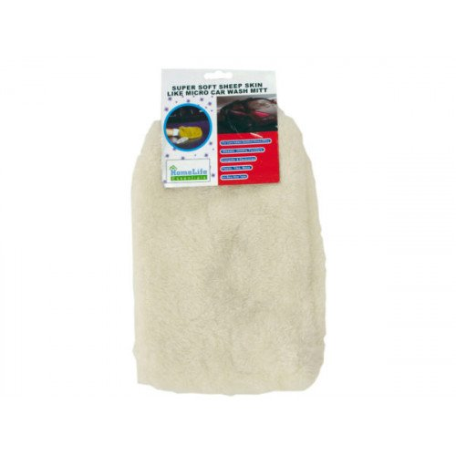Super Soft Microfiber Auto Wash Mitt