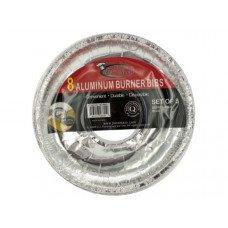 Disposable Aluminum Burner Bibs Set
