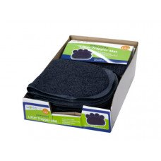 Paw Print Litter Trapper Mat Countertop Display