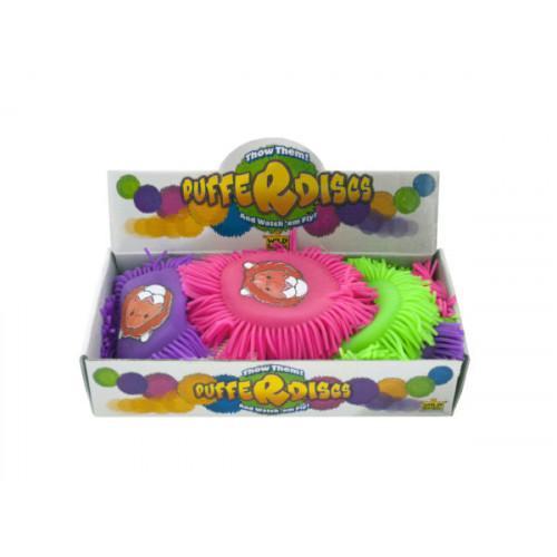 Wild Animals Pufferdiscs Throw Toy Countertop Display