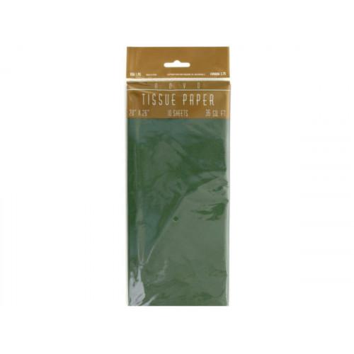 Green Gift Tissue Paper