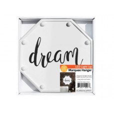 Dream LED Marquee Hanging Wall Sign