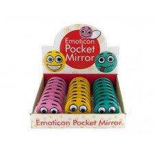 Emoticon Pocket Mirror Countertop Display