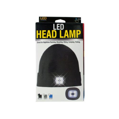 Unisex LED Head Lamp Beanie