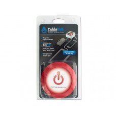 Round Red CableHub Customizable Universal Charging Station