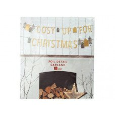 'Cosy Up for Christmas' Foil Detail Banner