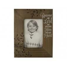 Receive the Lord Decorative Wooden Photo Frame