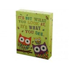 Owl & Snail Sayings Notecards & Envelopes Set