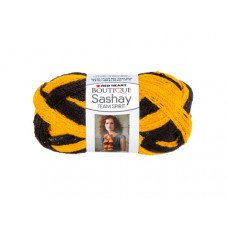 Gold & Black Team Spirit Sashay Yarn