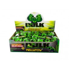 The Incredible Hulk Soccer Ball Keychain Countertop Display