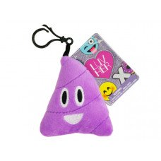 Assorted Emoticon Plush Keychain