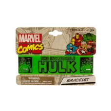 Marvel's Hulk Printed Silicone Cuff Bracelet