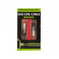 Auxiliary Coil Audio Cable