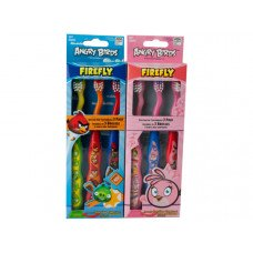 Angry Birds Suction Cup Toothbrush Set