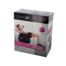 Cover Girl Active Core Conditioning Exercise Ball with Air Pump