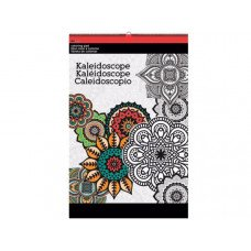 Kaleidoscope Large Coloring Pad