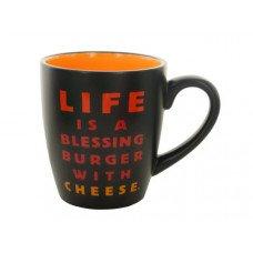 14 oz. Blessing Burger Ceramic Mug