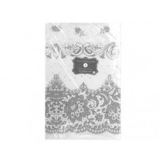Party Porcelain White Lace Print Paper Table Cover