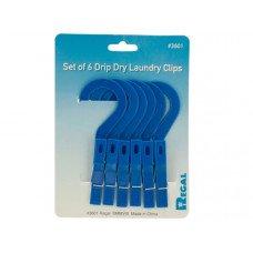 Drip Dry Laundry Clips Set