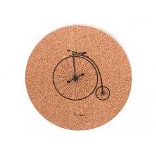 Bicycle Design Cork Coaster Set