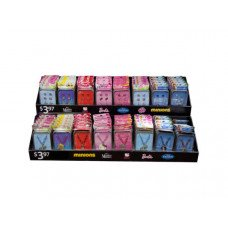 Assorted Licensed Jewelry Sets in Collectible Tins Countertop Display