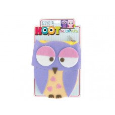 Give a Hoot Felt Owl Coin Purse
