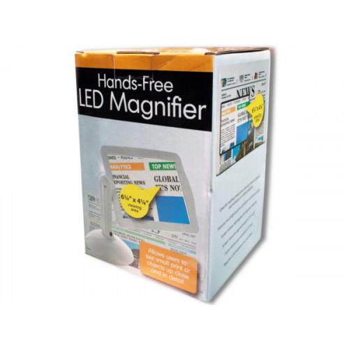 Hands-Free LED Magnifier