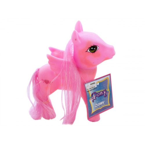 Colorful Pony Play Figure