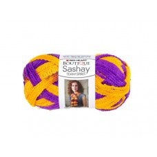 Purple & Gold Team Spirit Sashay Yarn