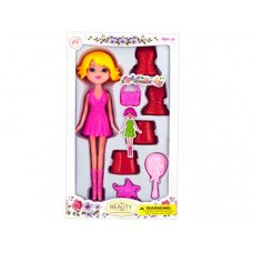 Colorful Changing Dress Doll