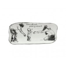Each Passing Moment Ceramic Art Tray