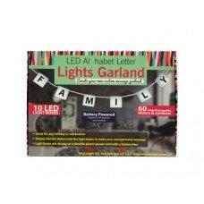 LED Alphabet Letter Lights Garland
