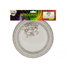 "9"" Wedding Paper Plates"