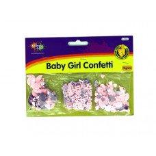 Baby Girl Confetti