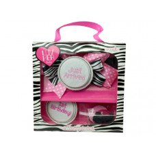 Luv Her Baby Pink and Black Gift Set