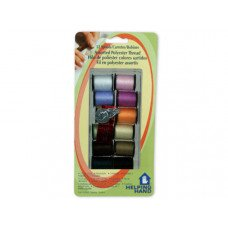 12 Spool Sewing Kit with Threader
