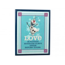 Disney's Frozen Plaque Olaf