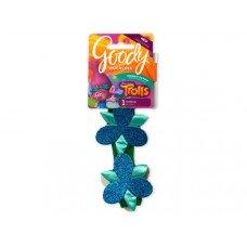 Goody Trolls Poppy Flower Headwrap Clip Strip Display