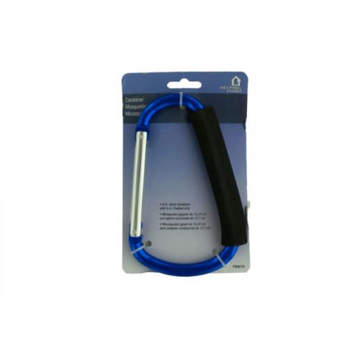 Jumbo Carabiner with Padded Grip