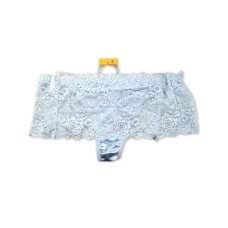 Light Blue Stretch Lace Underwear Thong