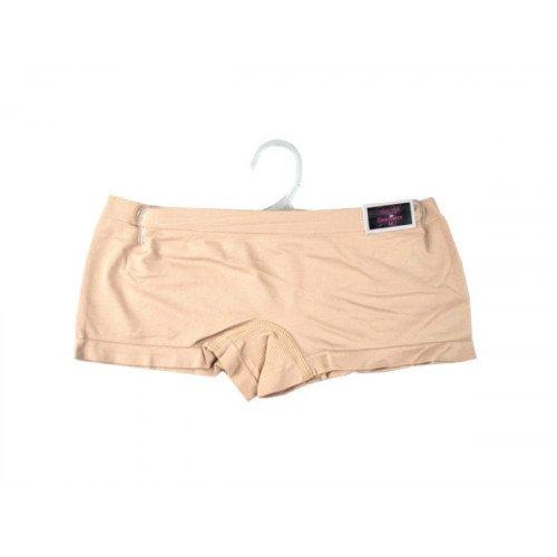Women's Medium Nude Seamless Underwear Boy Cut Shorts
