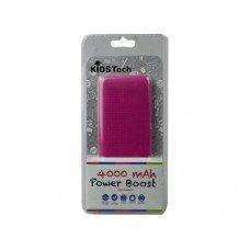4000 Mah Power Boost Powerbank - Pink/Blue