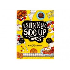 "Sunny Side Up 8""x10"" Coloring Pad with 24 Sheets"