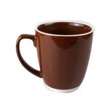 20 oz Large Ceramic Bistro Mug - Brown