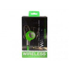 iHip Warrior Wireless Bluetooth Sport Earbuds - Grey/Green