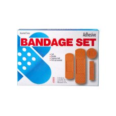 100 Pack Bandage Assortment