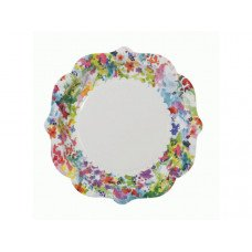 Floral Plate 12 Pk