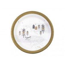 Nordic Christmas Plate 8 Pk