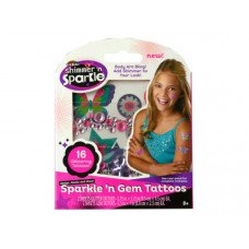 Shimmer & Sparkle Gem Tattoos