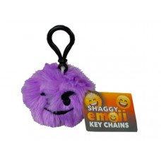 Shaggy Emoticon Keychain in Countertop Display